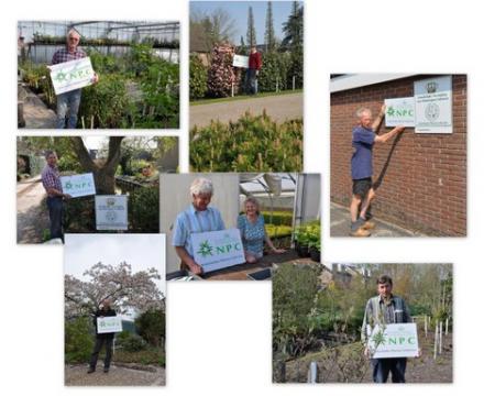 Na Trompenburg Tuinen & Arboretum waren andere collectiehouders aan de beurt om hun nieuwe NPC-bord in ontvangst te nemen.
